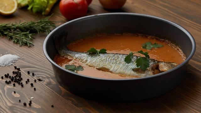 Brancin u saftu od povrća