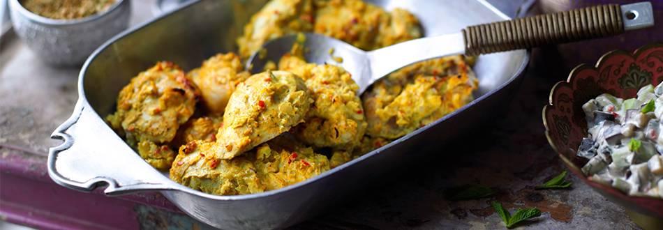 Murgh Tandoori (marinirana piletina iz rerne)