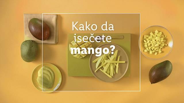 Kako da isečete mango 🥭