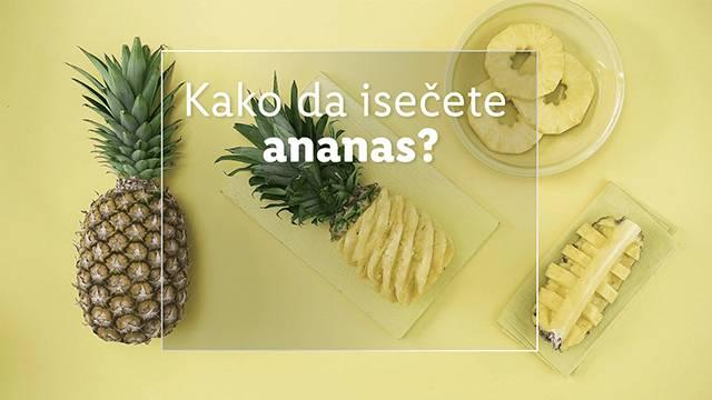 Kako da isečete ananas 🍍